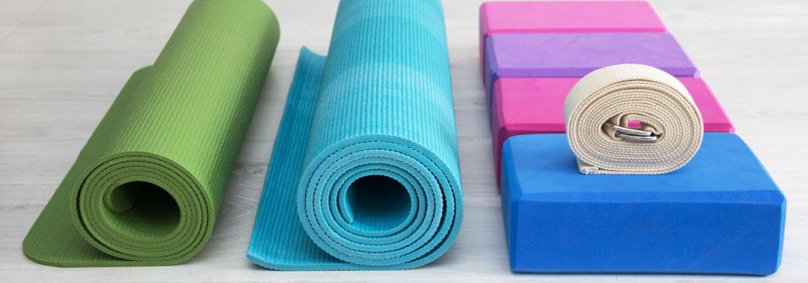 Achat de tapis de Yoga